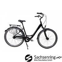Велосипед міський Damen City Bike 28 Nexus 7 Schwarz Німеччина
