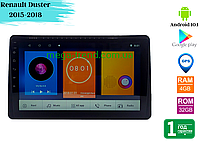 "Штатная магнитола Renault Duster 2015-2018 (10"") Android 10.1 (4/32), фото 1"