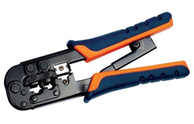 Обжимной инструмент для RJ-45,12,11, ITK
