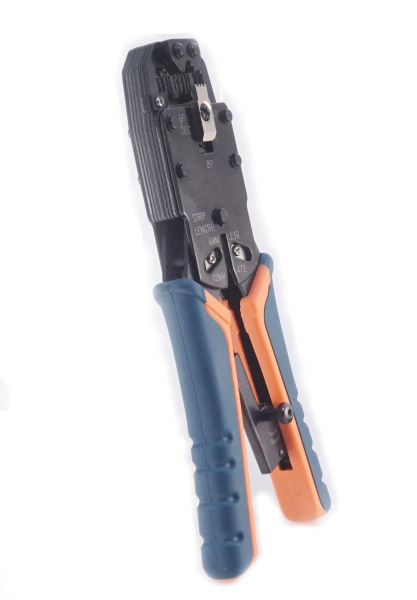 Обжимной инструмент вертикальный для RJ-45,12,11, ITK