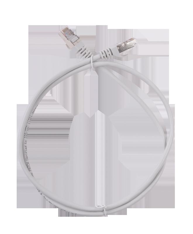 Коммутационный шнур (патч-корд), кат.5Е FTP LSZH, 0,5м ITK