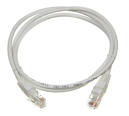 Коммутационный шнур (патч-корд), кат.5Е FTP LSZH, 1м ITK