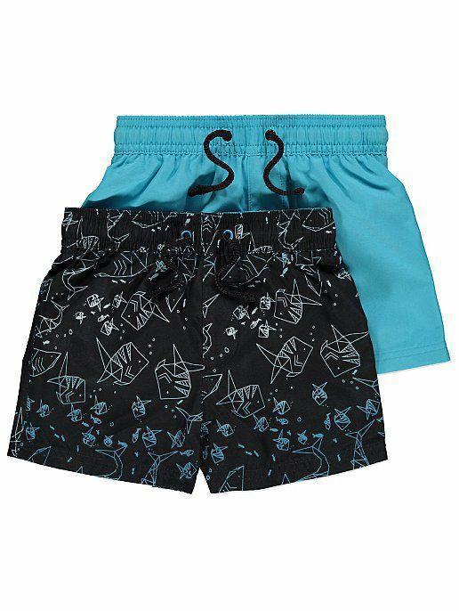 Плавательные шорты с принтом акул