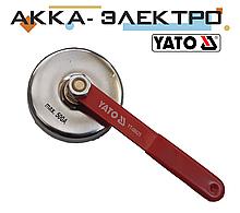 Зварювальний маса магнітна з рукояттю YATO 85 ММ/ 7 КГ/ 500А