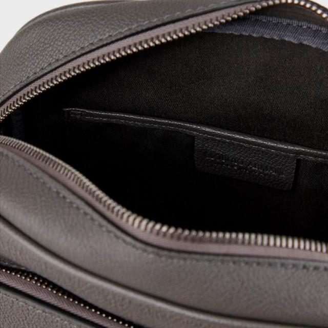 Чоловіча шкіряна сумка на плече Giorgio Armani