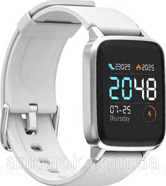 Смарт-годинник Xiaomi Haylou LS01 White