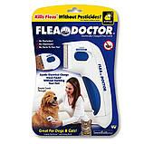 Электрическая расческа для животных Flea Doctor с функцией уничтожения блох, фото 6