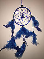 Ловец снов синий, d-9 см