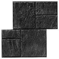 Старый Бердянск №2 - штамп 490х490 мм; имитация песчаной тротуарной плитки; форма для печатного бетона, фото 1