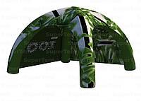 Надувной промо шатер со съемными стенами для торговли выставок мероприятий 5х5м
