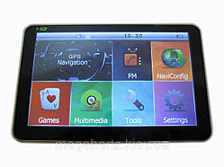 "GPS HD навигатор 5009 4gb Cortex-A7 800mHz 5"""