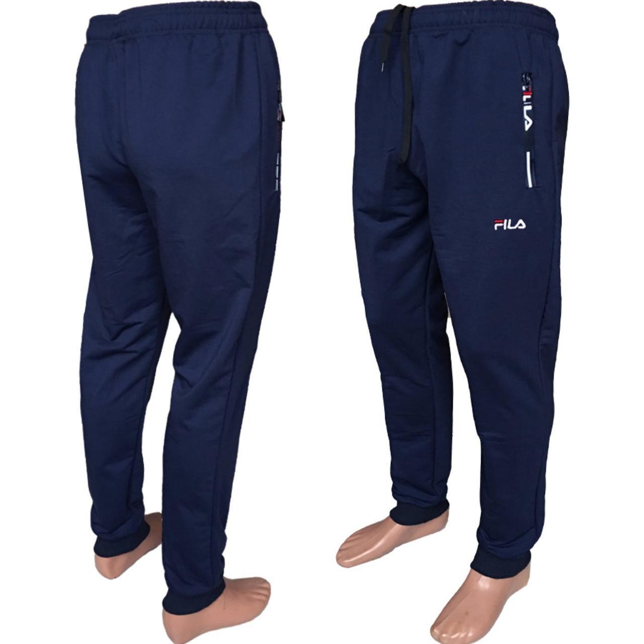 Спортивные штаны мужские двухнитка FILA 46-52