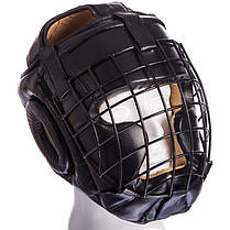 Шлем с металлической решеткой (М-XL) Черный M PZ-MA-0730_1, фото 3