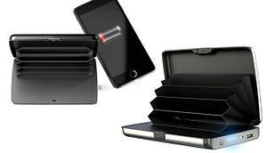 Кошелек-зарядка E-Charge Wallet Ipower bank 3000 мАч черный (13855)