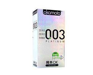 Презервативы Okamoto 003 Platinum 10шт.