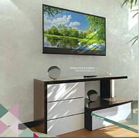 Тумба TV Неман TV Line 12 НТ-49 венге+білий супермат