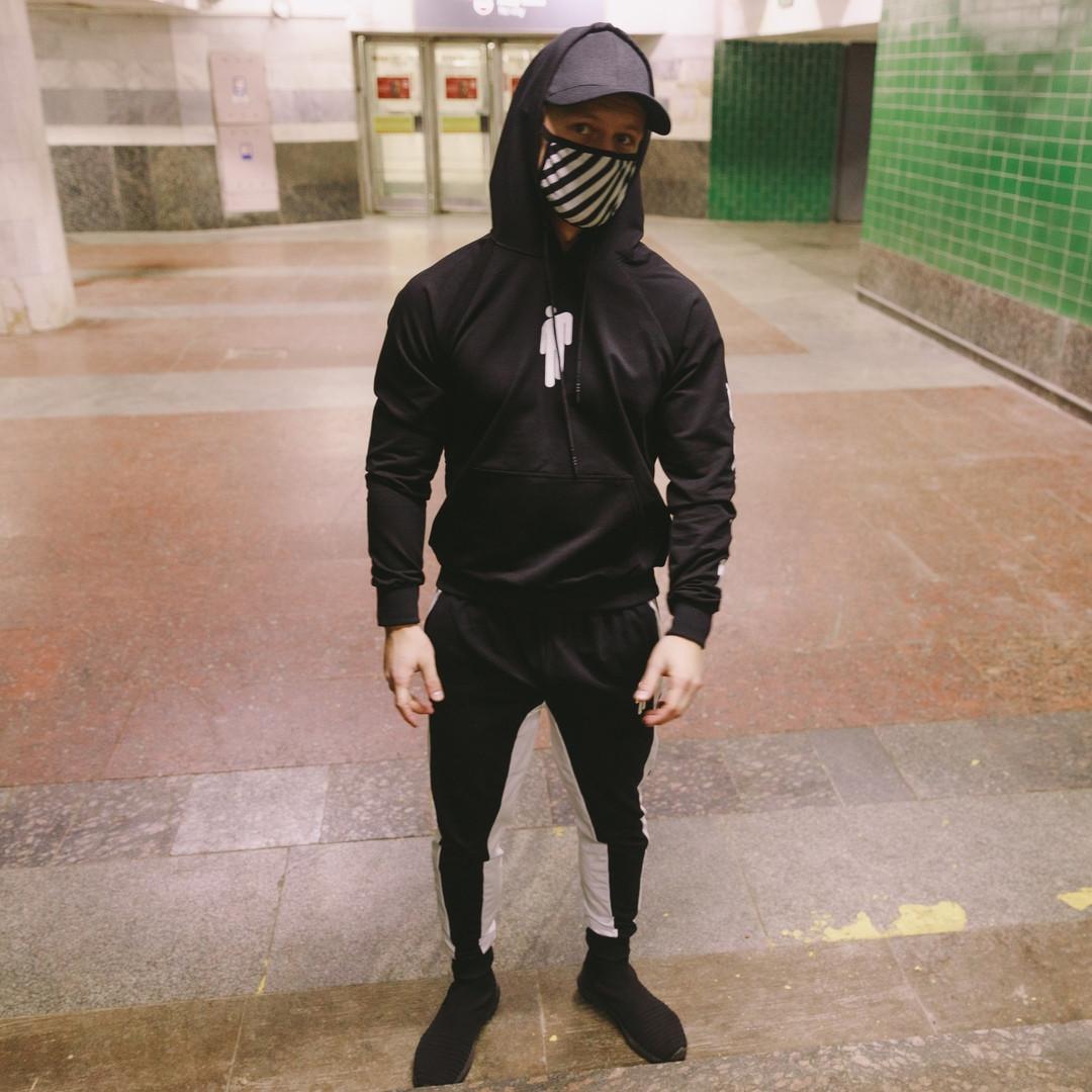 Мужской спортивный костюм BILLIE EILISH черный