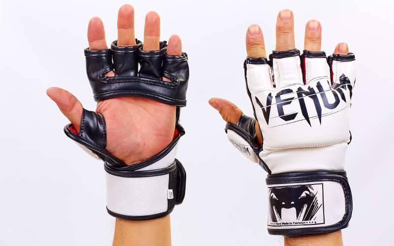 Перчатки для MMA FLEX Venum UNDISPUTED (S-XL) Белый M PZ-VL-5790_1