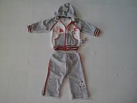 Детский велюровый костюм для девочки на 3  месяца