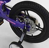 """Детский велосипед """"Corso"""" MG-77218 14 дюймов, магниевая рама, дисковые тормоза, фото 4"""