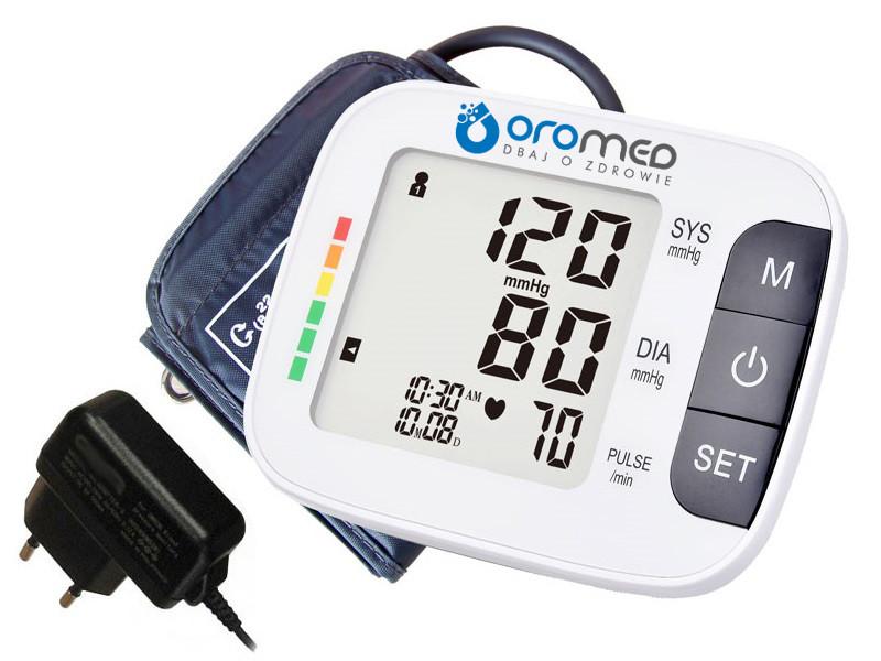 Тонометр автоматичний з адаптером Oromed ORO-N7 CLASSIC-Z