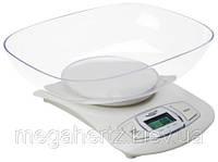 Весы кухонные электронные Adler AD-3137 White