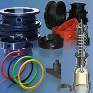вироби з металу, пластику, гуми, загальне