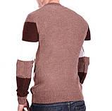 Чоловічий шерстяний светр Gerekli Туреччина k2253/2 Комбінований L, фото 2