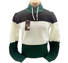 Мужской свитер Rawi Polo rp871/1 Разноцветный M
