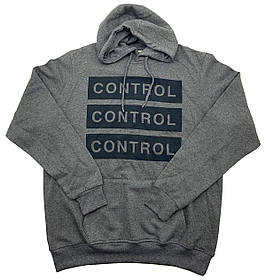 Худи мужская Ice Boy CONTROL k646/2 Темно-серая XL