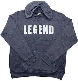Худи мужская Ice Boy LEGEND k646/3 Темно-синяя XL