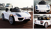Электромобиль Tilly  EVA Porsche White (T-7616E)