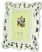 Фоторамка ажурная классическая с цветочками 27х22 см