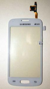 Тачскрин сенсор Samsung S7260, S7262 Galaxy Star Plus белый (HQ)