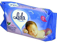 Влажные салфетки Lula sensitive -72 шт.