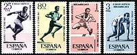 Испания 1962 Sc#1127-1130 MNH XF