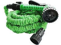 Садовый шланг для полива XHOSE 30м с распылителем, фото 1