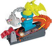 Трек Хот Вилс Монстры в городе Атака птеродактиляПтеро Hot Wheels Ptero Port Attack Оригинал от Mattel, фото 3