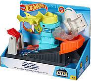 Трек Хот Вилс Монстры в городе Атака птеродактиляПтеро Hot Wheels Ptero Port Attack Оригинал от Mattel, фото 5