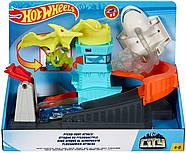 Трек Хот Вилс Монстры в городе Атака птеродактиляПтеро Hot Wheels Ptero Port Attack Оригинал от Mattel, фото 7