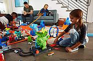 Трек Хот Вилс Разгневанный Трицератопс Hot Wheels Smashin Triceratops Оригинал от Mattel, фото 7