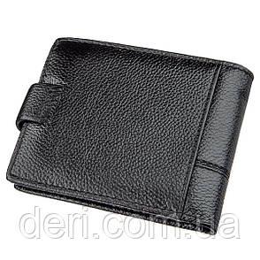 Стильный портмоне мужской флотар кожаный черный TAILIAN, фото 2
