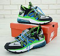 Мужские кроссовки Nike Air Max 270 Bowfin найк аир макс 270 хит для спорта (ТОП реплика ААА+), фото 1
