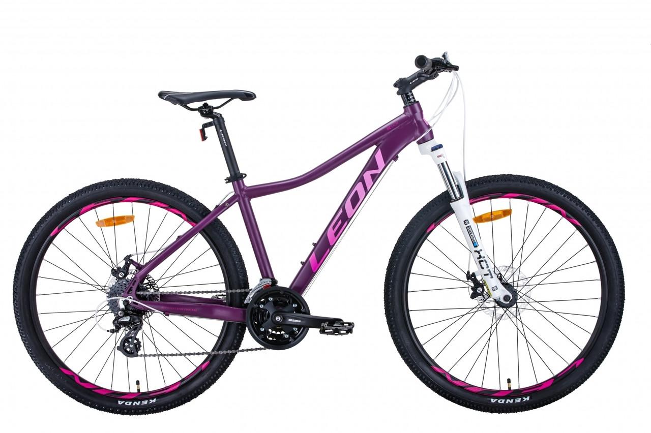 "Велосипед 27.5"" Leon XC-LADY 2020 (сливовый (м))"