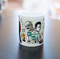 Кружка чашка Во все тяжкие  Breaking Bad