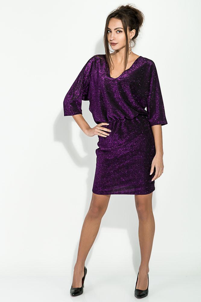 Платье женское 115R169 цвет Фиолетовый