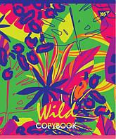"""Тетради в клетку А5/96 """"Wild animals neon"""", код: 764398"""