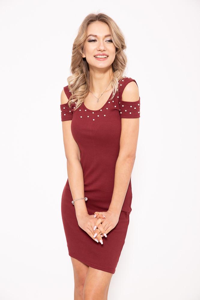 Платье 103R088 цвет Бордовый