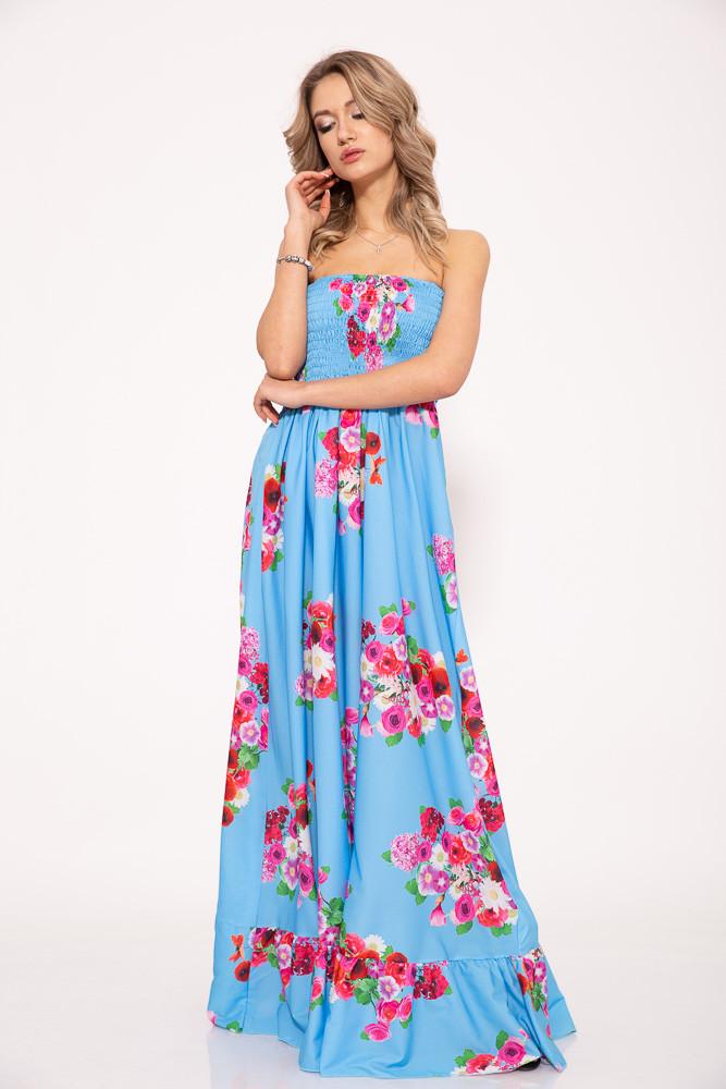 Платье 103R073W цвет Голубой