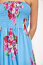 Платье 103R073W цвет Голубой, фото 2